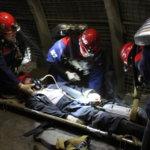 Кемеровские горноспасатели состязаются в тактико-технической подготовке
