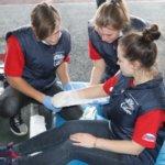 Студенты-добровольцы из Кузбасса принимают участие в финальном этапе всероссийских соревнований «Человеческий фактор»